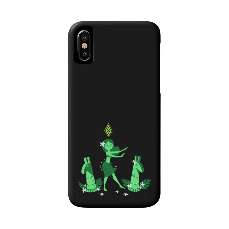 Sim-hula Green Accessories Phone Case by The Sims Official Threadless Store