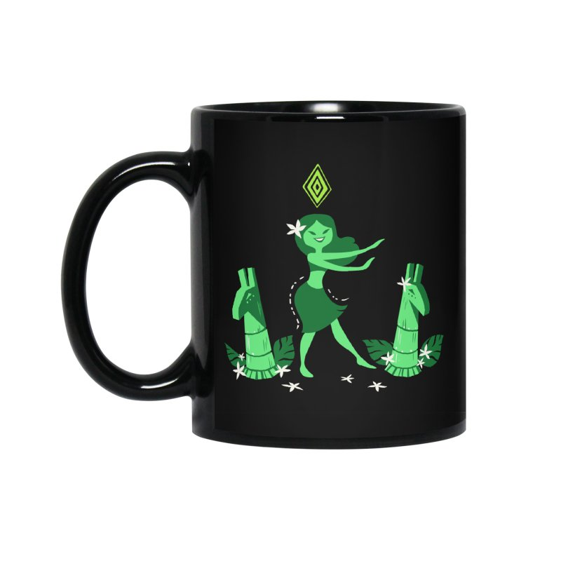 Sim-hula Green Accessories Standard Mug by The Sims Official Threadless Store