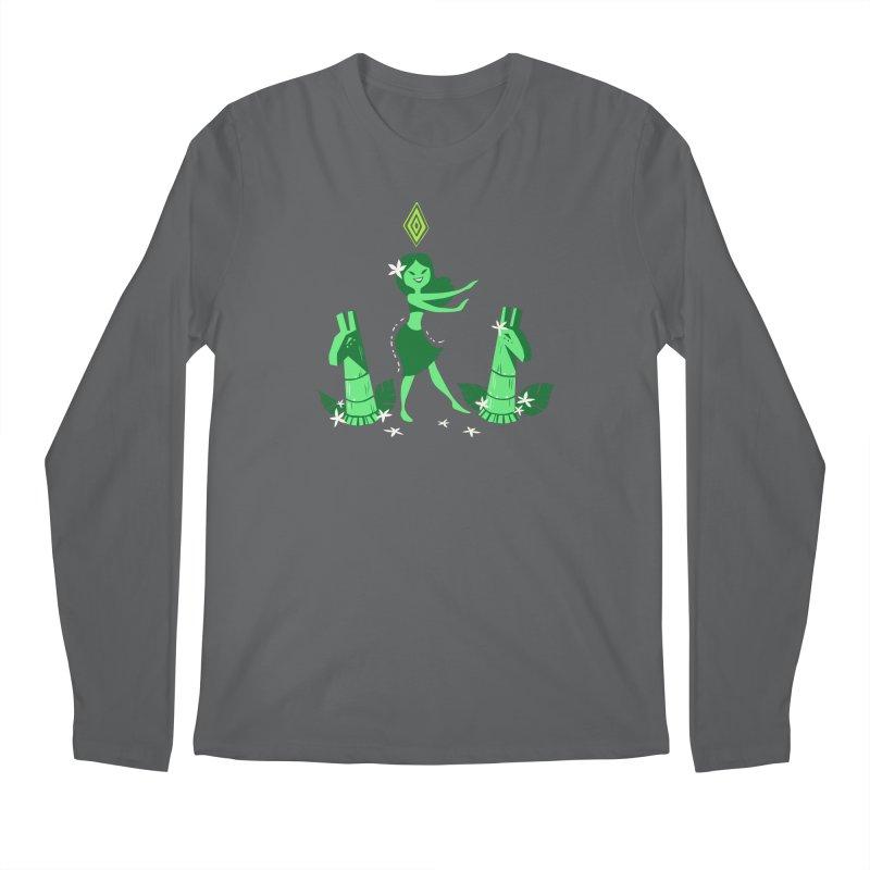 Sim-hula Green Men's Longsleeve T-Shirt by The Sims Official Threadless Store
