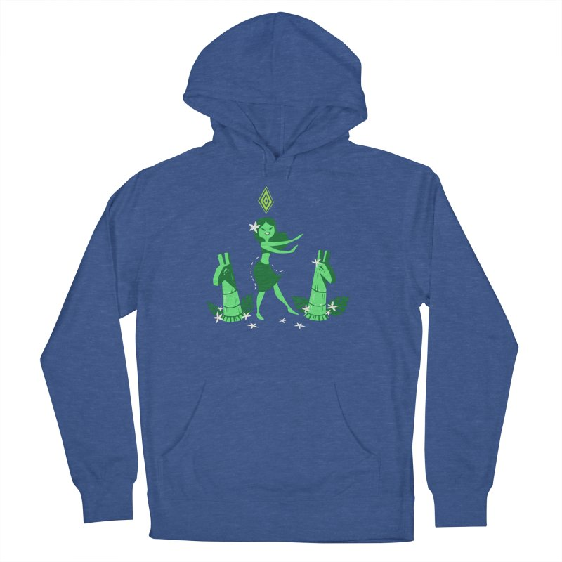 Sim-hula Green Women's French Terry Pullover Hoody by The Sims Official Threadless Store