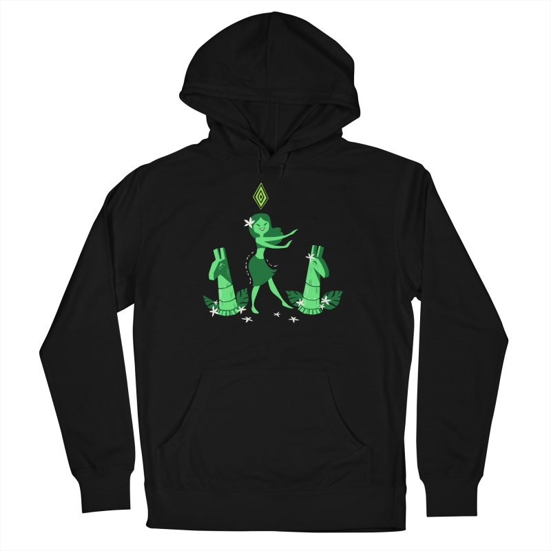 Sim-hula Green Men's French Terry Pullover Hoody by The Sims Official Threadless Store