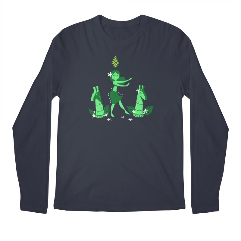 Sim-hula Green Men's Regular Longsleeve T-Shirt by The Sims Official Threadless Store