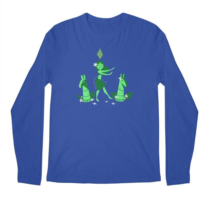 Sim-hula Green Men's Regular Longsleeve T-Shirt by The Sims Official Threadless Store