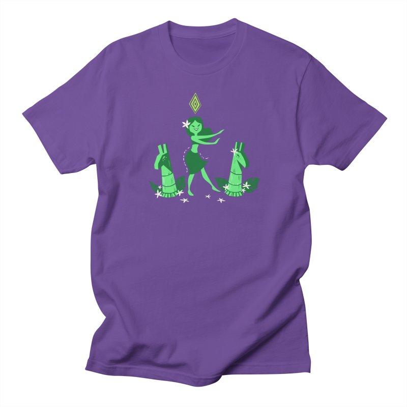 Sim-hula Green Women's Regular Unisex T-Shirt by The Sims Official Threadless Store