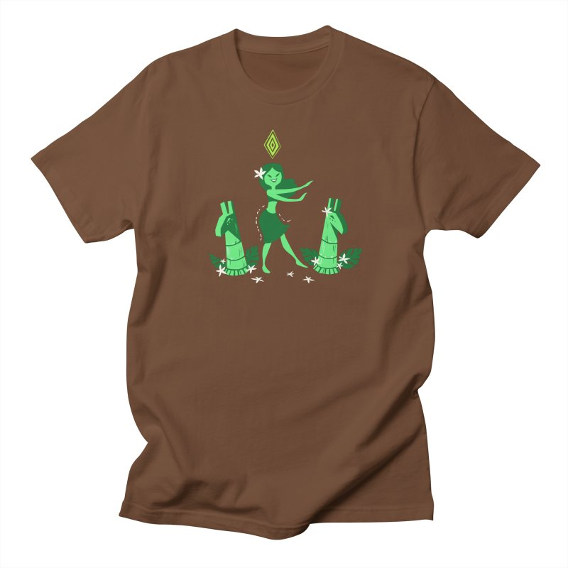 Sim-hula Green Men's Regular T-Shirt by The Sims Official Threadless Store