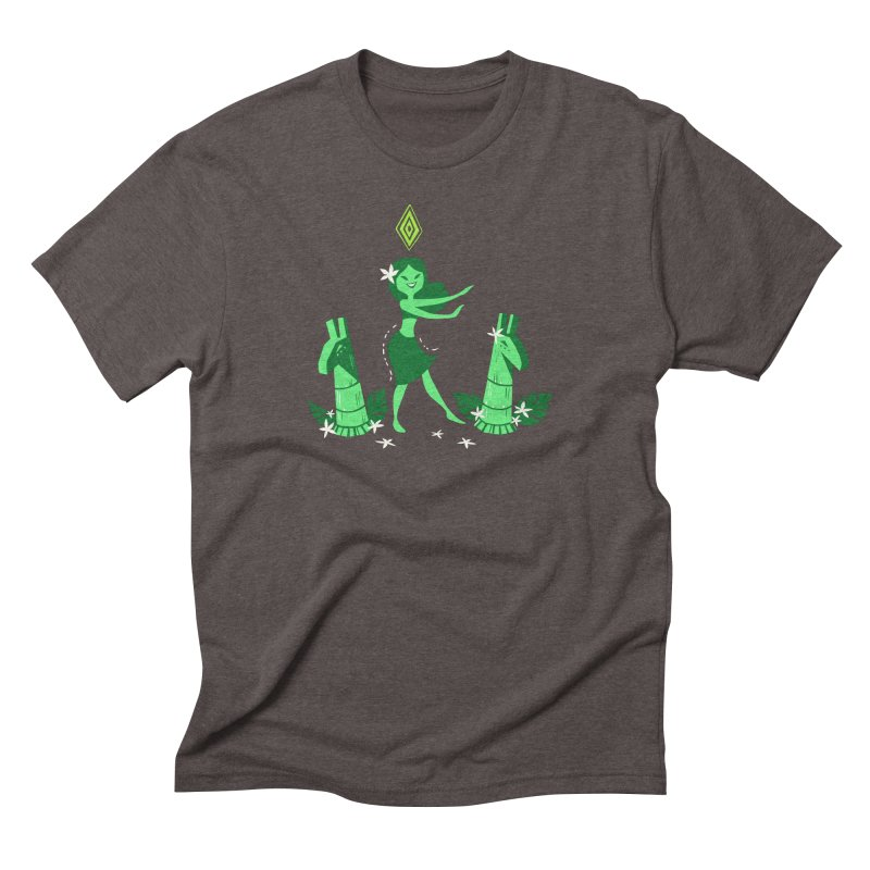 Sim-hula Green Men's Triblend T-Shirt by The Sims Official Threadless Store