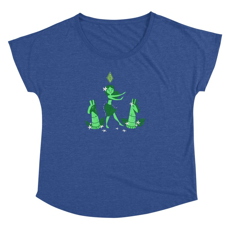 Sim-hula Green Women's Dolman Scoop Neck by The Sims Official Threadless Store