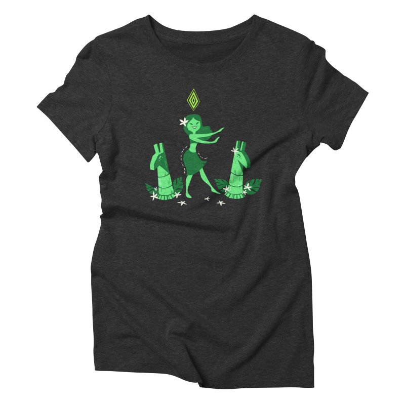 Sim-hula Green Women's Triblend T-Shirt by The Sims Official Threadless Store