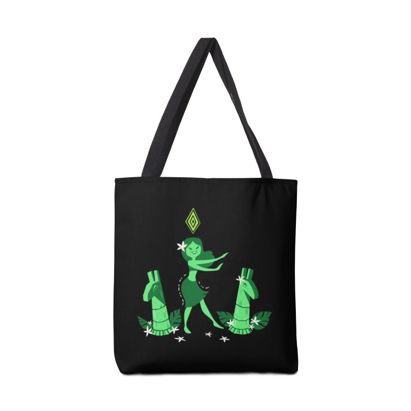 Sim-hula Green Accessories Bag by The Sims Official Threadless Store