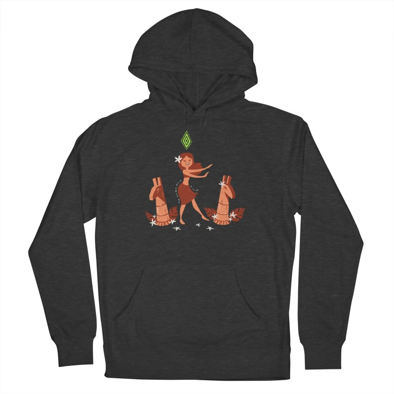 Sim-hula Orange Men's French Terry Pullover Hoody by The Sims Official Threadless Store