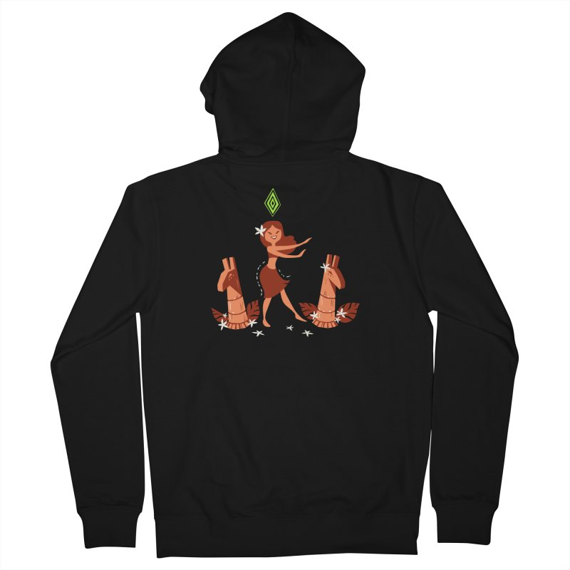 Sim-hula Orange Women's French Terry Zip-Up Hoody by The Sims Official Threadless Store