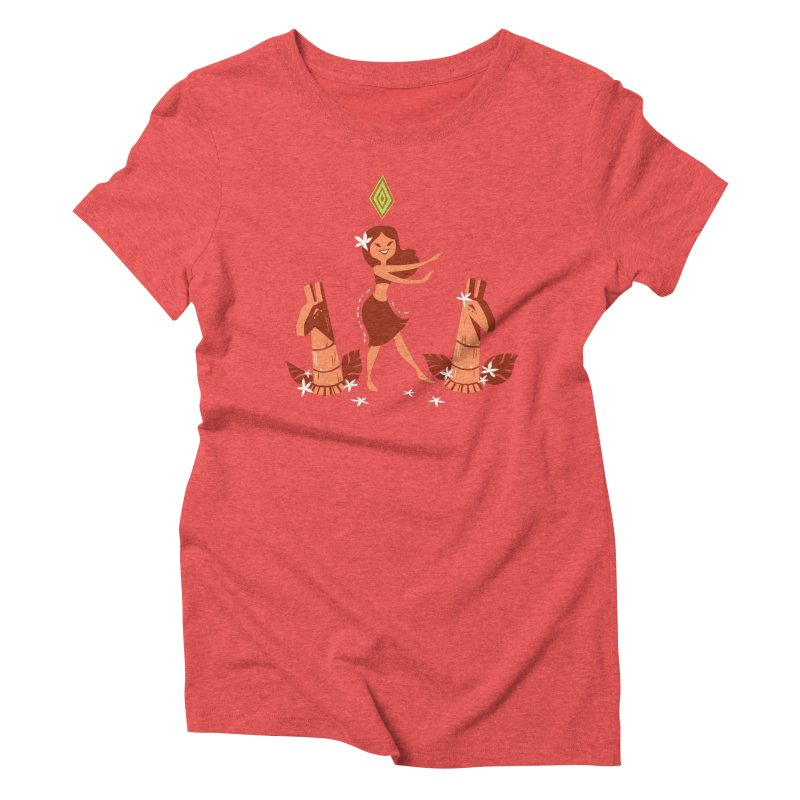 Sim-hula Orange Women's T-Shirt by The Sims Official Threadless Store