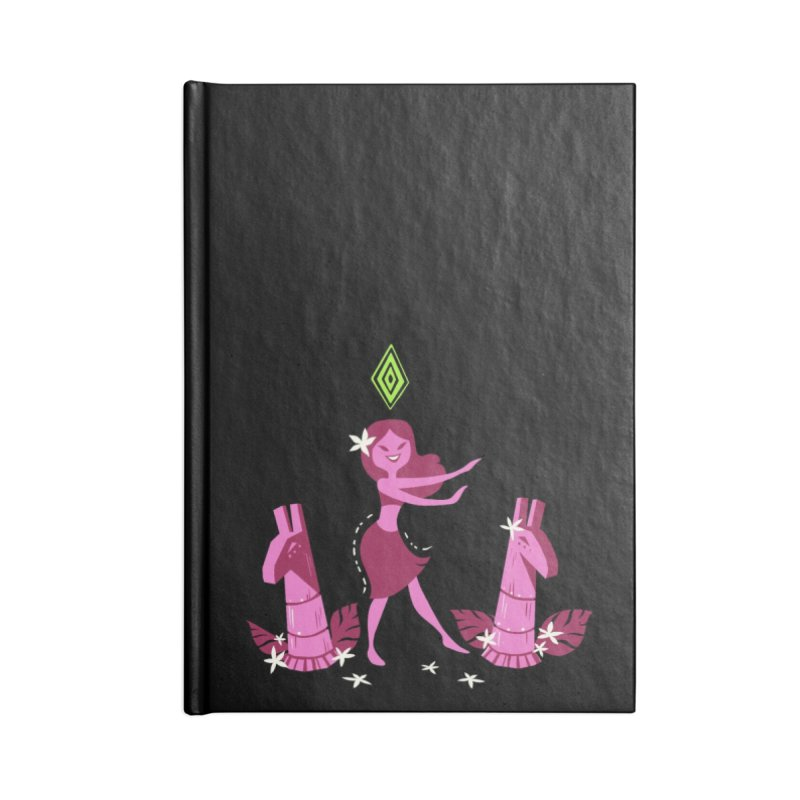 Sim-hula Pink Accessories Lined Journal Notebook by The Sims Official Threadless Store
