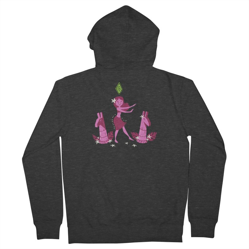 Sim-hula Pink Women's French Terry Zip-Up Hoody by The Sims Official Threadless Store