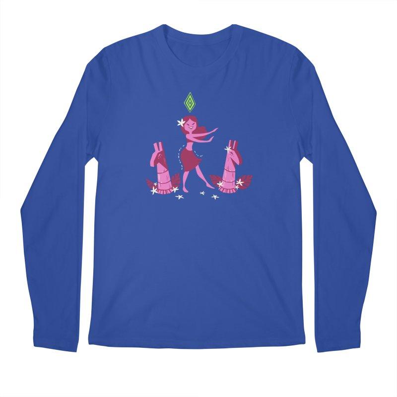 Sim-hula Pink Men's Regular Longsleeve T-Shirt by The Sims Official Threadless Store