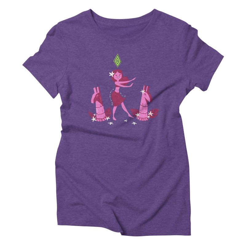 Sim-hula Pink Women's Triblend T-Shirt by The Sims Official Threadless Store