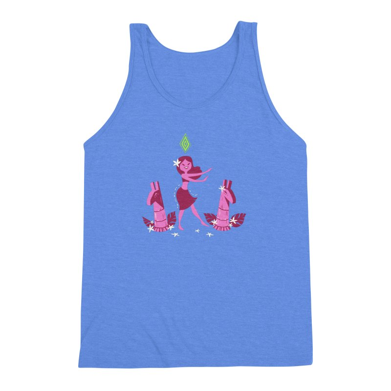 Sim-hula Pink Men's Triblend Tank by The Sims Official Threadless Store