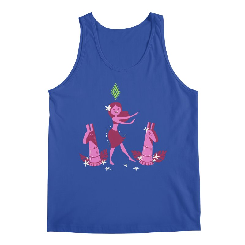 Sim-hula Pink Men's Regular Tank by The Sims Official Threadless Store