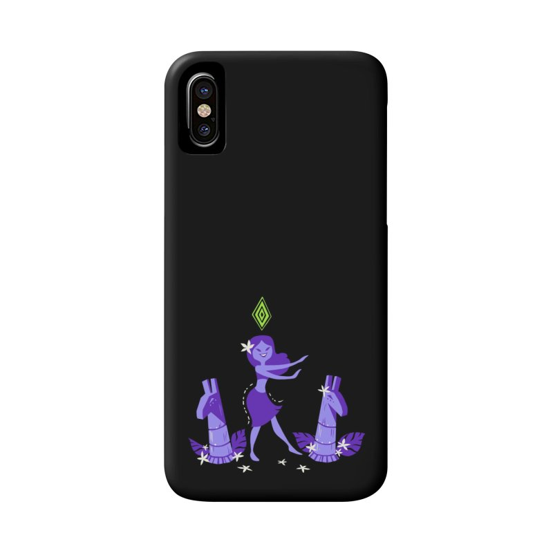Sim-hula Purple Accessories Phone Case by The Sims Official Threadless Store