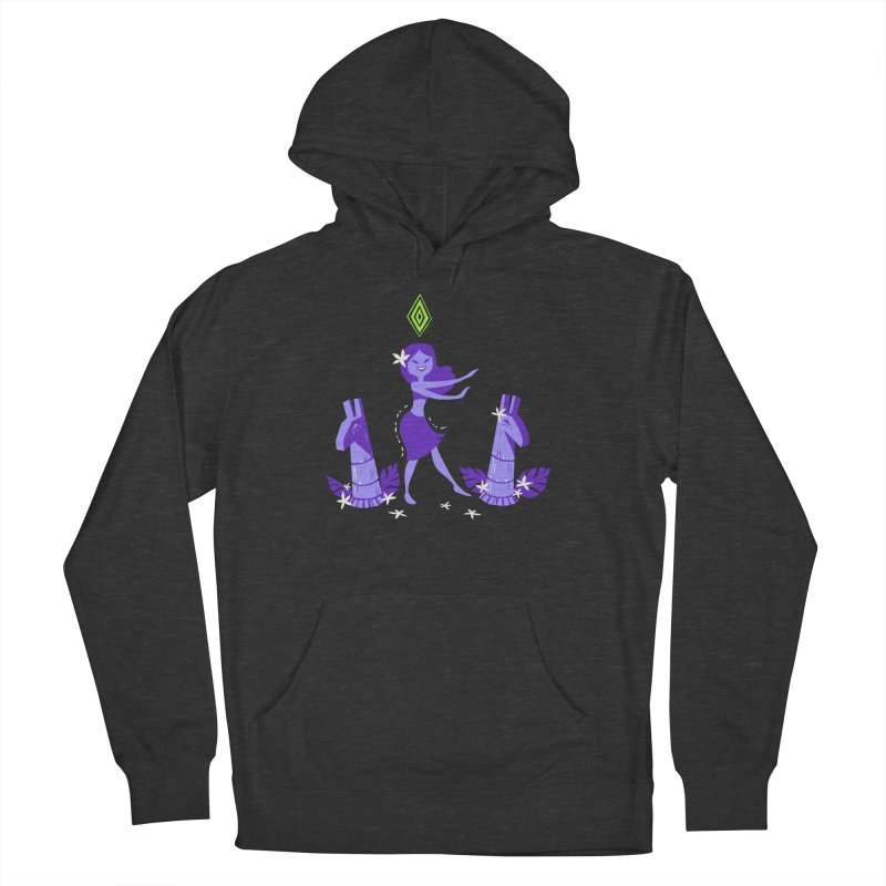 Sim-hula Purple Women's French Terry Pullover Hoody by The Sims Official Threadless Store
