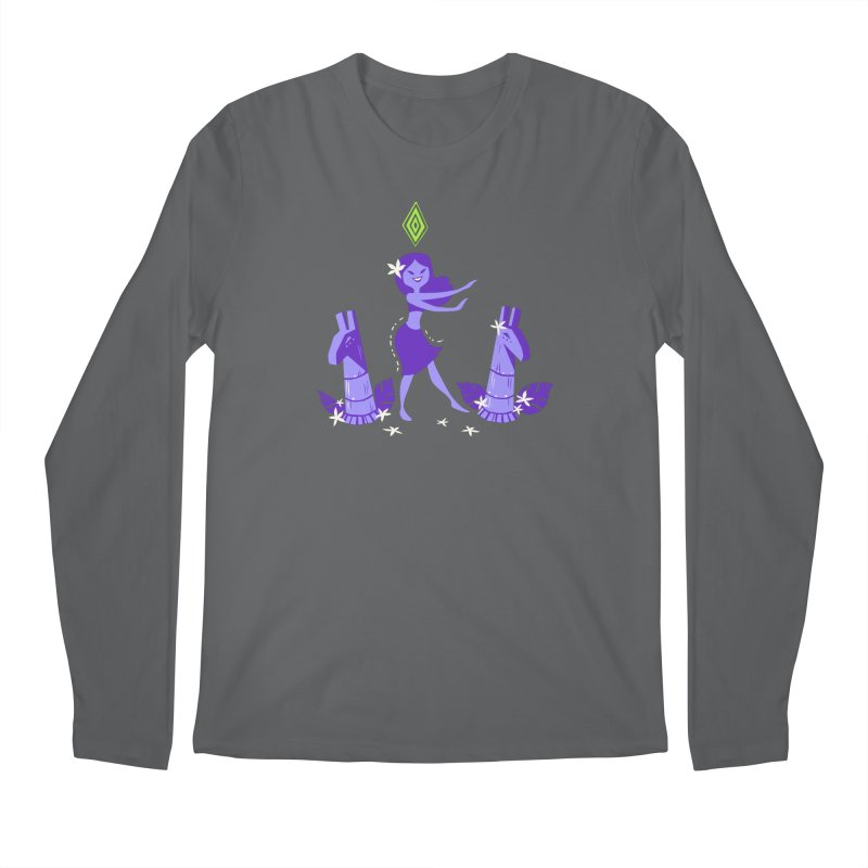 Sim-hula Purple Men's Longsleeve T-Shirt by The Sims Official Threadless Store