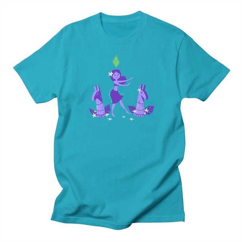 Sim-hula Purple Women's Regular Unisex T-Shirt by The Sims Official Threadless Store