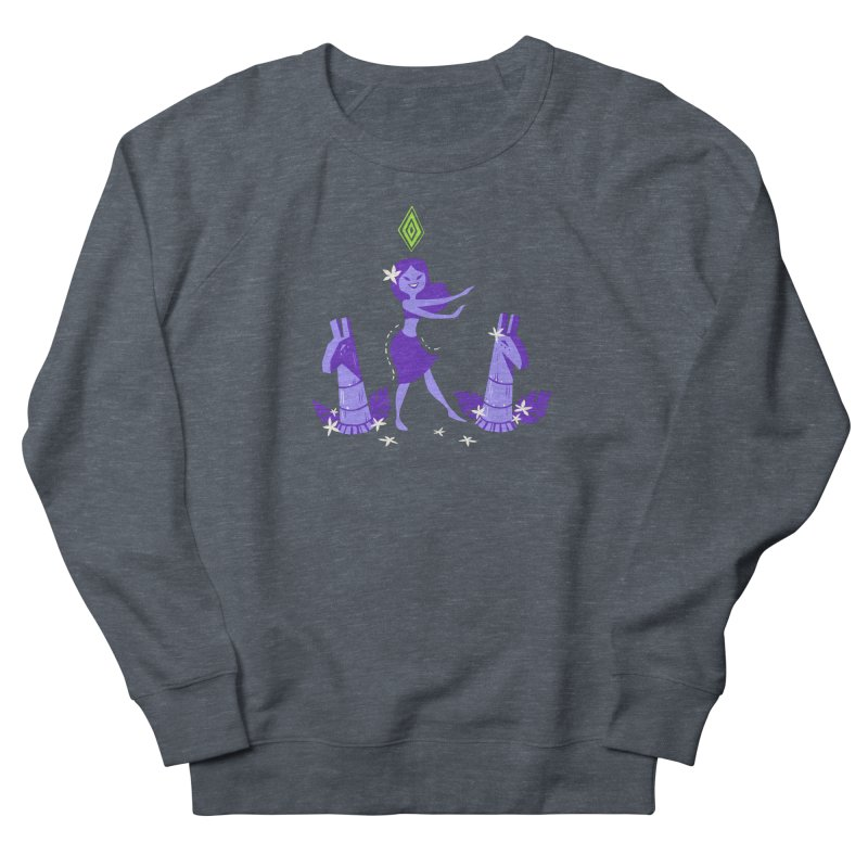 Sim-hula Purple Women's French Terry Sweatshirt by The Sims Official Threadless Store