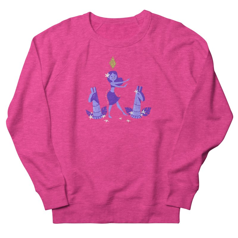 Sim-hula Purple Men's French Terry Sweatshirt by The Sims Official Threadless Store