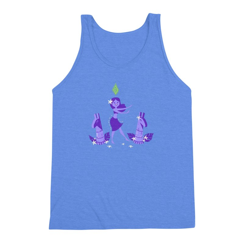 Sim-hula Purple Men's Triblend Tank by The Sims Official Threadless Store