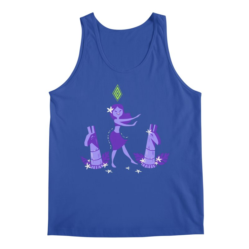 Sim-hula Purple Men's Regular Tank by The Sims Official Threadless Store