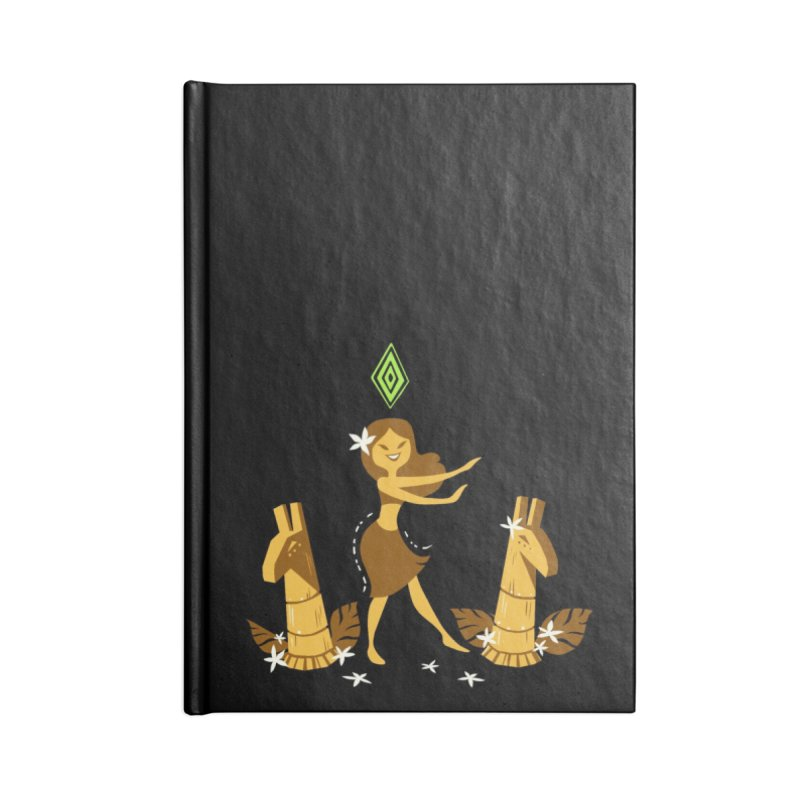 Sim-hula Yellow Accessories Lined Journal Notebook by The Sims Official Threadless Store