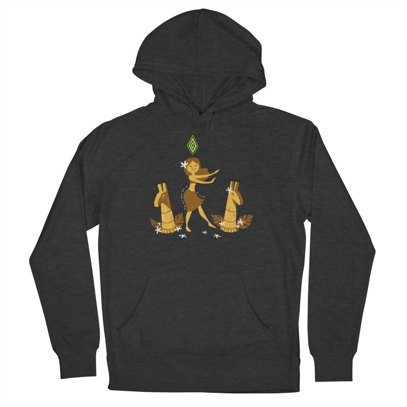 Sim-hula Yellow Women's French Terry Pullover Hoody by The Sims Official Threadless Store