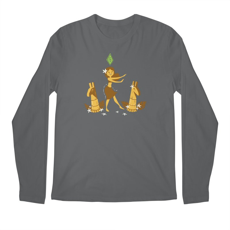 Sim-hula Yellow Men's Regular Longsleeve T-Shirt by The Sims Official Threadless Store