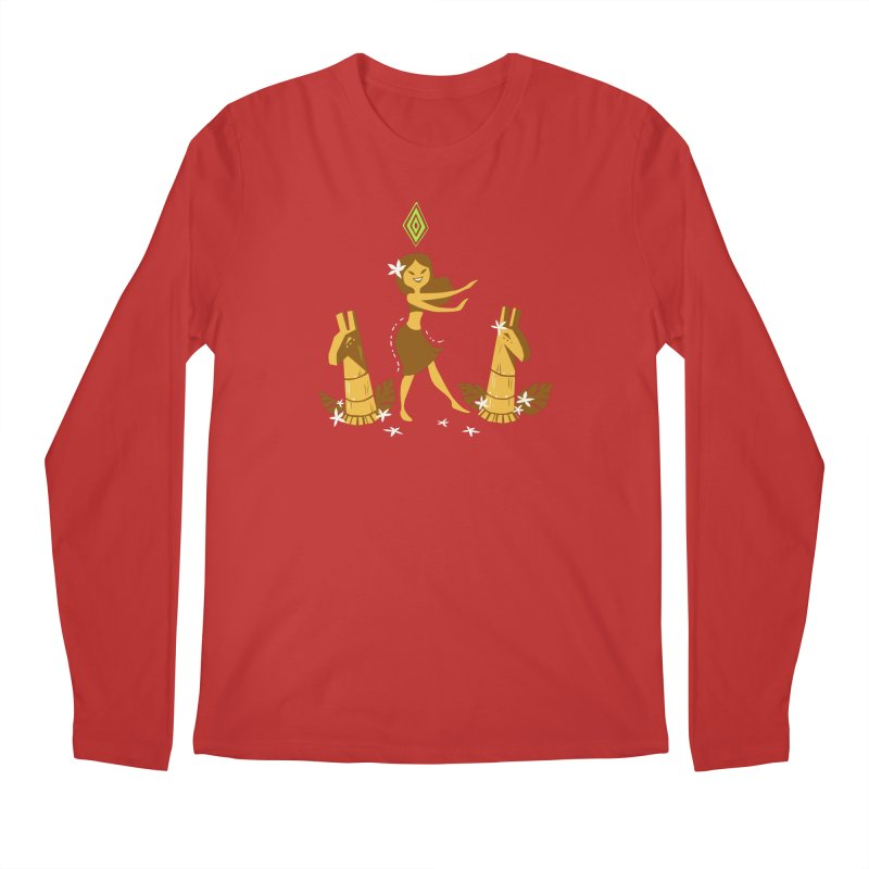 Sim-hula Yellow Men's Regular Longsleeve T-Shirt by The Sims Official Threadless Store
