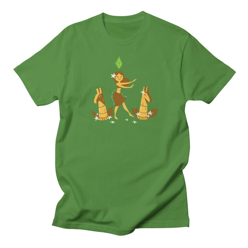 Sim-hula Yellow Women's Regular Unisex T-Shirt by The Sims Official Threadless Store