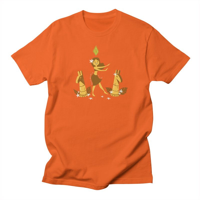 Sim-hula Yellow Men's T-Shirt by The Sims Official Threadless Store