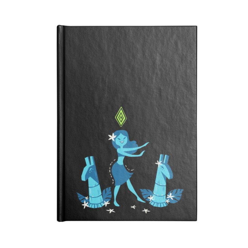 Sim-hula Blue Accessories Lined Journal Notebook by The Sims Official Threadless Store