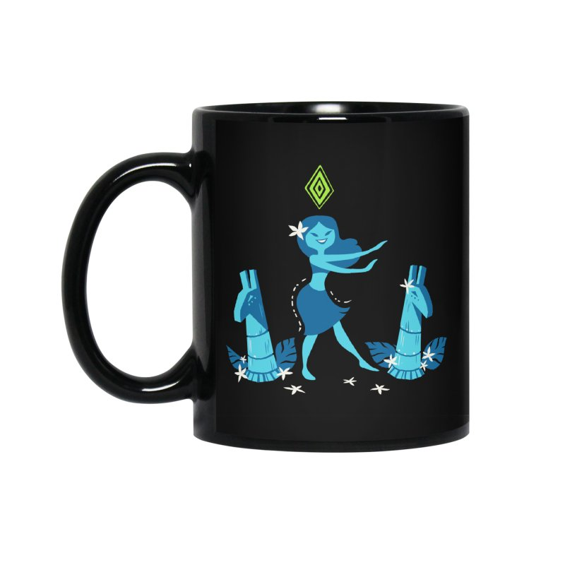Sim-hula Blue Accessories Mug by The Sims Official Threadless Store