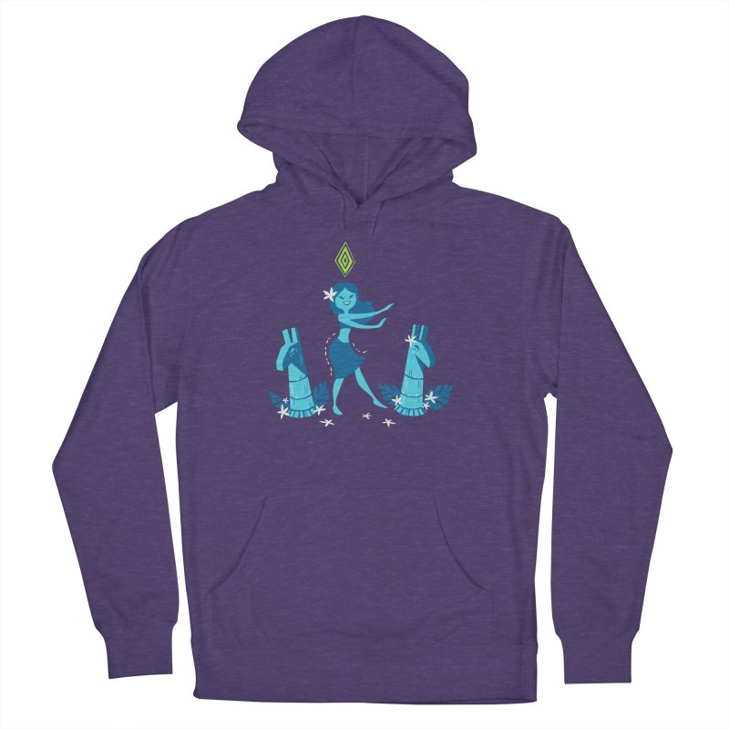 Sim-hula Blue Men's French Terry Pullover Hoody by The Sims Official Threadless Store
