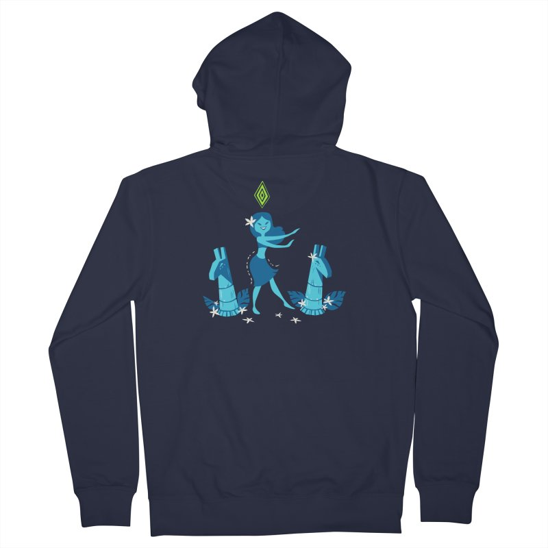Sim-hula Blue Women's French Terry Zip-Up Hoody by The Sims Official Threadless Store