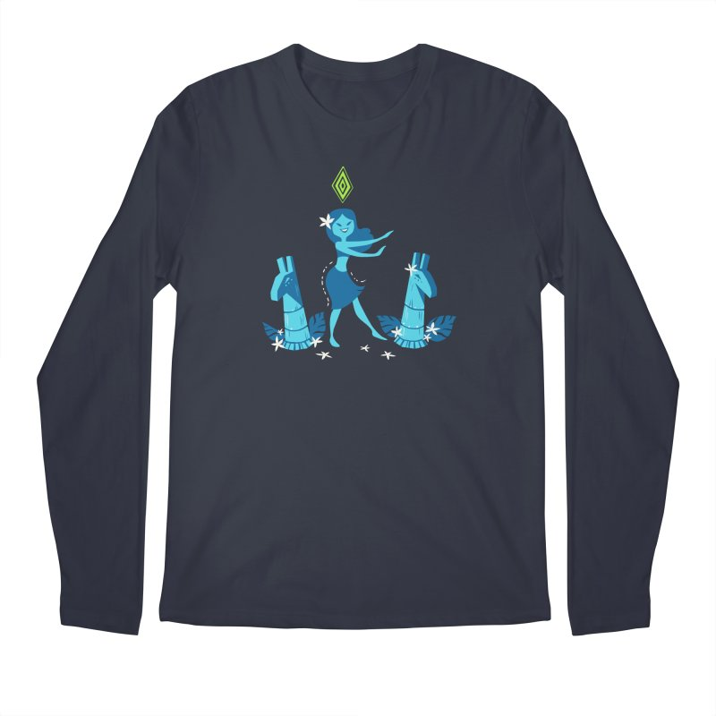 Sim-hula Blue Men's Regular Longsleeve T-Shirt by The Sims Official Threadless Store