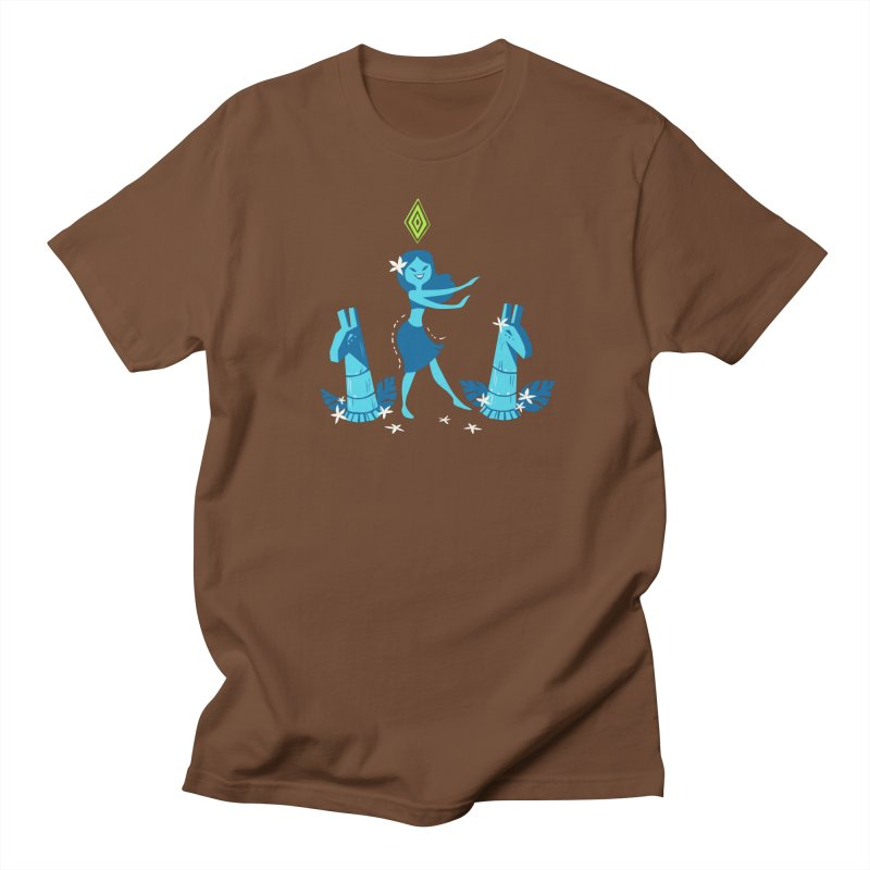 Sim-hula Blue Women's Regular Unisex T-Shirt by The Sims Official Threadless Store