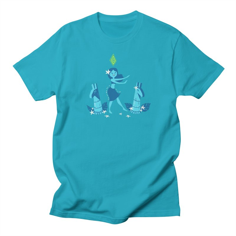 Sim-hula Blue Women's T-Shirt by The Sims Official Threadless Store