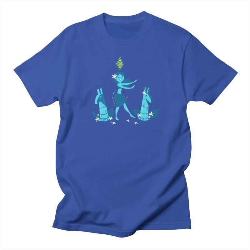 Sim-hula Blue Women's Regular Unisex T-Shirt by The Sims Official Threadless Store