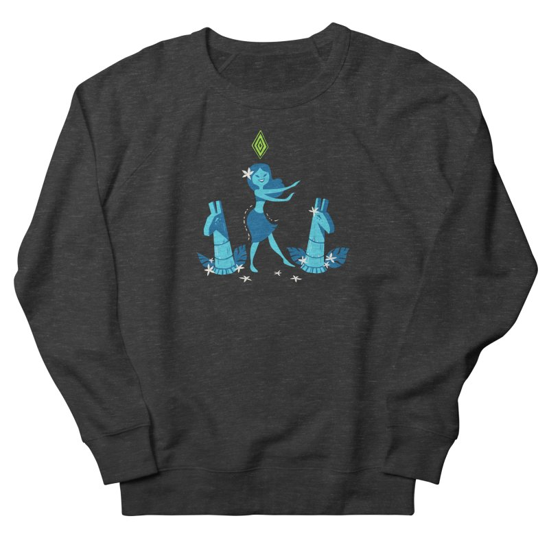 Sim-hula Blue Women's French Terry Sweatshirt by The Sims Official Threadless Store