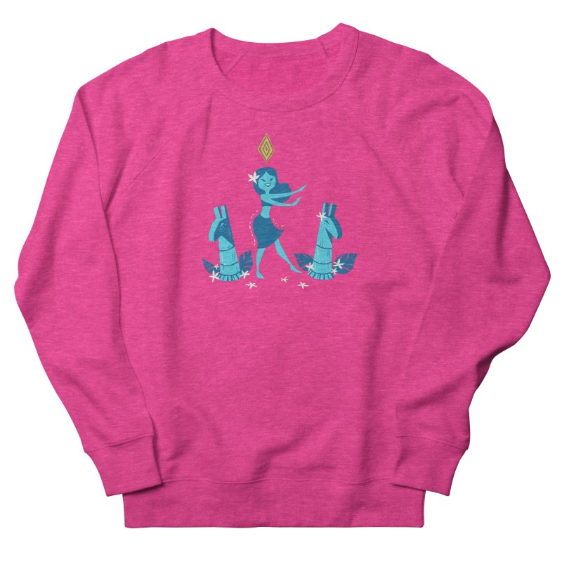 Sim-hula Blue Men's French Terry Sweatshirt by The Sims Official Threadless Store