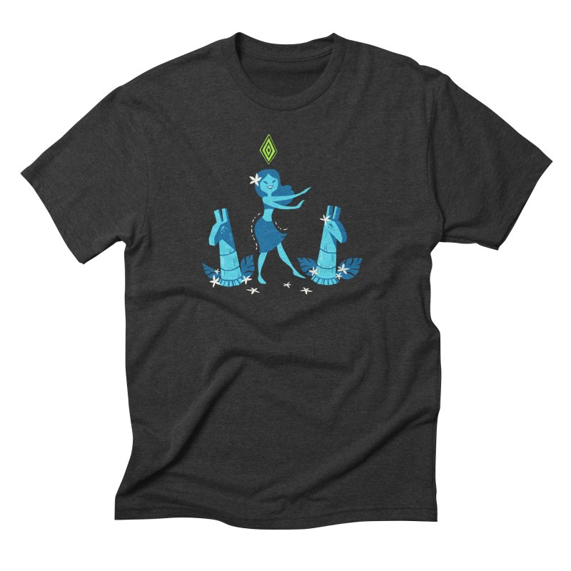 Sim-hula Blue Men's Triblend T-Shirt by The Sims Official Threadless Store