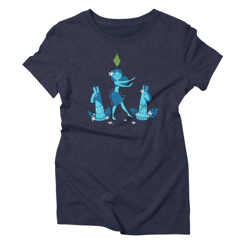 Sim-hula Blue Women's Triblend T-Shirt by The Sims Official Threadless Store
