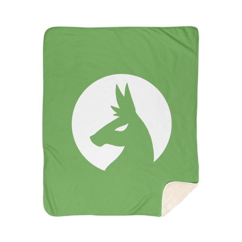 Hero Llama Logo Home Sherpa Blanket Blanket by The Sims Official Threadless Store
