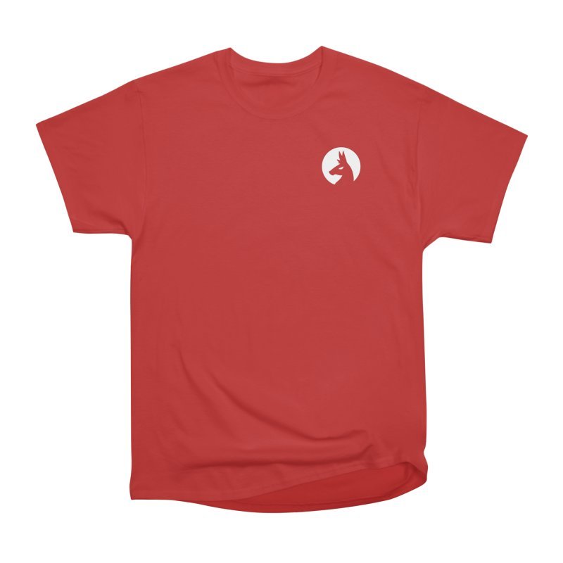 Hero Llama Logo Men's Heavyweight T-Shirt by The Sims Official Threadless Store